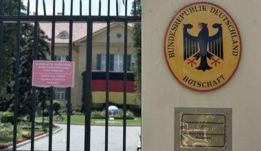 Türkiye Alman Büyükelçiyi Bakanlığa Çağırdı