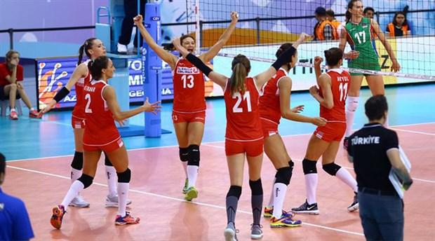 A Milli Kadın Voleybol Takımı, bronz madalya kazandı