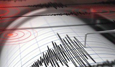 Erzincan'da 3.4 büyüklüğünde deprem