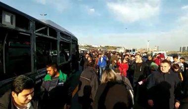 İstanbul'da Korkunç Metrobüs Kazası