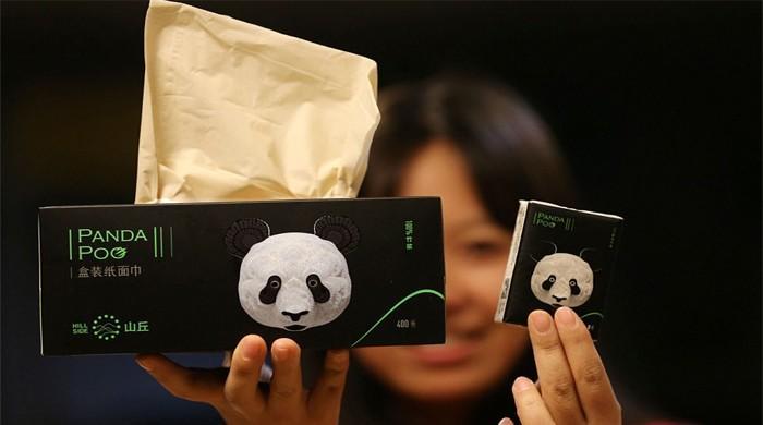 Panda Dışkısı İle Tuvalet Kağıdı…