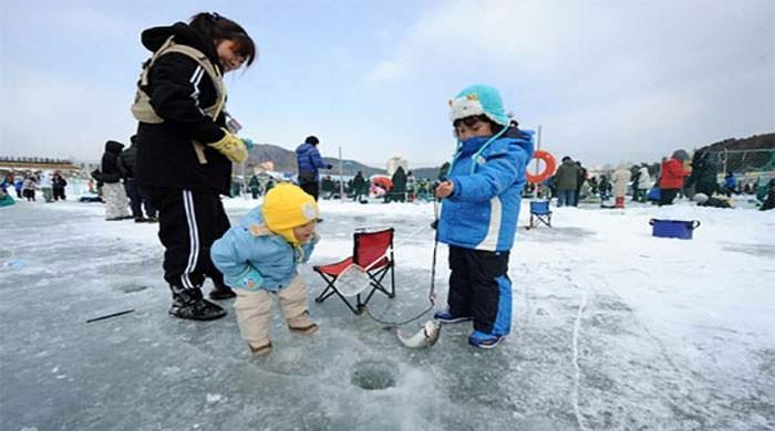 Yıllık kış balıkçılığı festivali Çin'de başlıyor