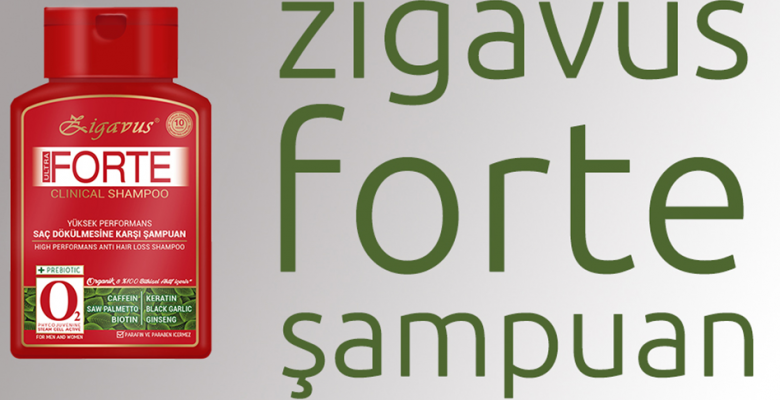 Saç Dökülmesine Karşı Yeni Alman Formülü: Zigavus Forte