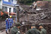 Heyelan Kolombiya'da 13 kişiyi öldürdü