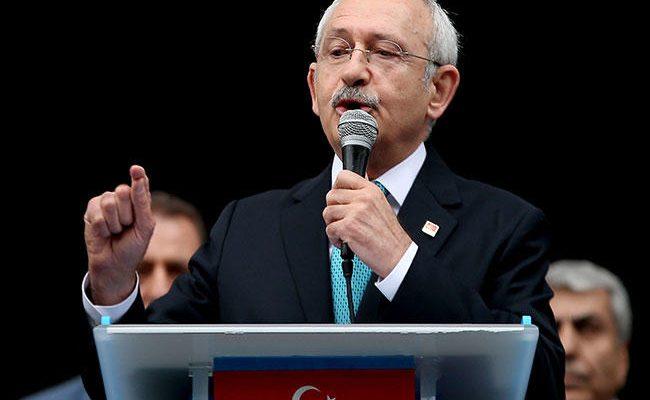 Mahkemeniz veya polisinizden korkmuyoruz: CHP başkanı