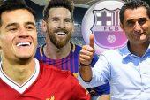 Philippe Coutinho'ya Barselona'dan: 142 Milyon Euro