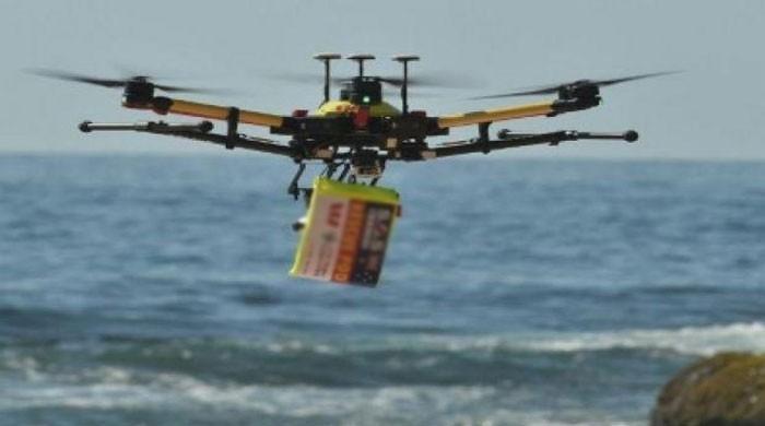 Drone, Avustralya'da ilk kez yüzücüler kurtardı.