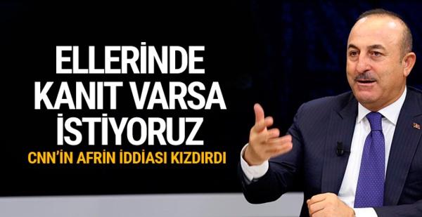 Türk dışişleri bakanlığı: Afrin Söylemleri için Fransızlara Cevap