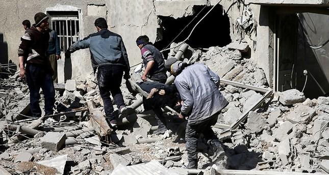 Esad Roket Ateşledi 13 Sivil Hayatını Kaybetti