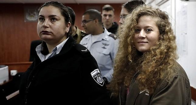 Filistinli genç Ahed Tamimi'nin Davası
