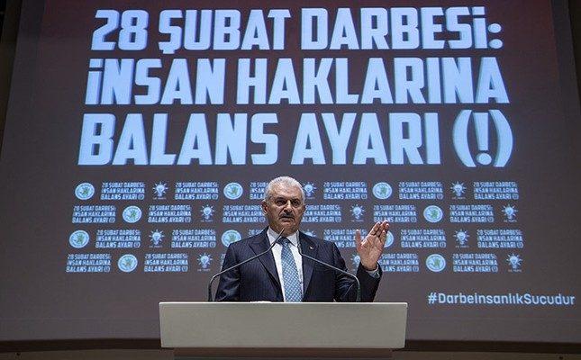 Yıldırım, darbe maliyetinin Türkiye'ye 390 milyar dolar olduğunu söyledi