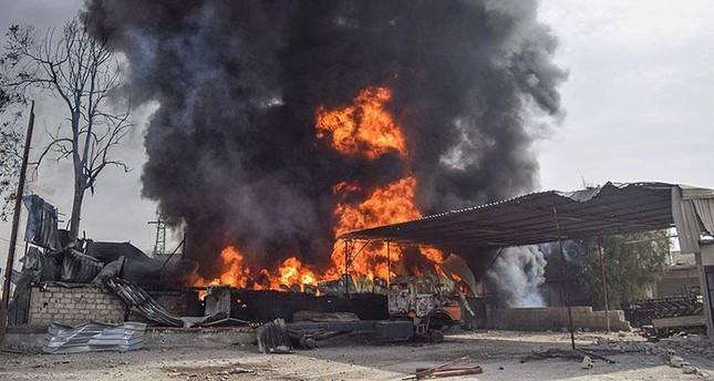 Ghouta'da rejim saldırısında sonra 37 sivil öldü