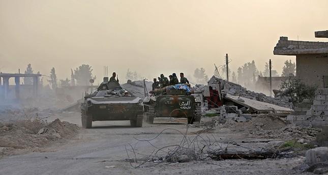 Esad rejimi Suriye'nin doğu Ghouta'sının üçte birini kontrol altına aldı