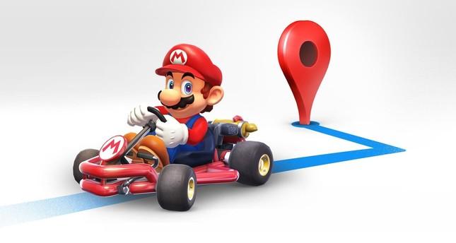 Google Haritalar'a Mario Geliyor