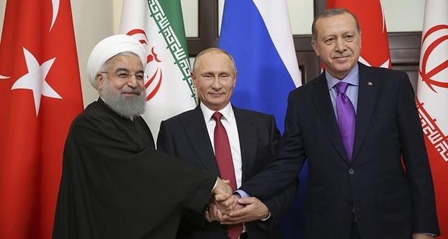 Erdoğan, Putin, Rouhani  Üçlü Zirve Yapılacak