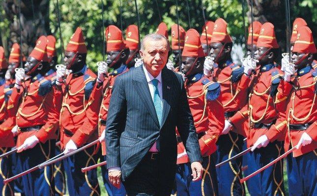 Erdoğan, Türkiye Afrika ile ilişkileri güçlendirme kararlılığını taşıyor