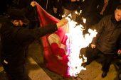 Dışişleri Bakanlığı, Yunanistan'da Türk bayrağı yakılmasını kınadı