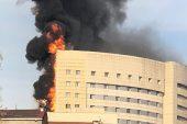 Taksim Hastanesinde Büyük Yangın…