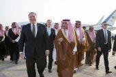 Suudi Arabistan'daki Devlet Pompeo'nun İran'a karşı harekete geçilmesi çağrısında bulundu