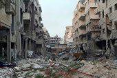 Doğu Ghouta'daki Douma'yı tahliye etmeye başladı