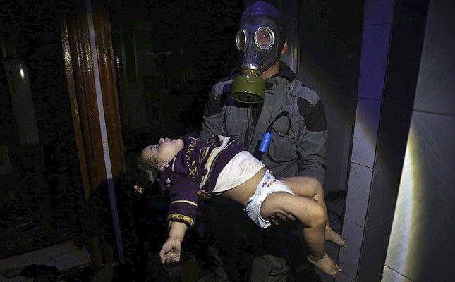 Suriyede Nükleer Gaz Kullanımı Sivilleri Öldürüyor…