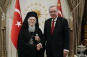 Erdoğan Rum Ortodoks Patriğini kabul etti