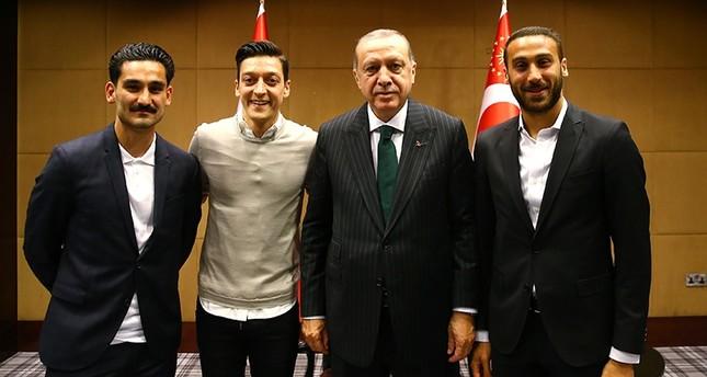 Erdoğan, Premier Lig yıldızlarıyla buluştu