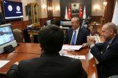 Erdoğan, Maduro İstanbul'da İKÖ zirvesi öncesinde konferans görüşmesi yaptı