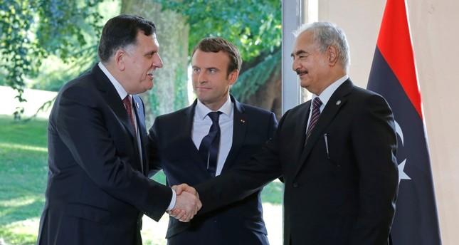 Libya liderleri siyasi yol haritası çizmek için Paris konferansında buluştu