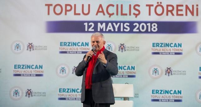 Halk İttifakı Türkiye'yi geleceğe taşıyacak, Başbakan Yıldırım