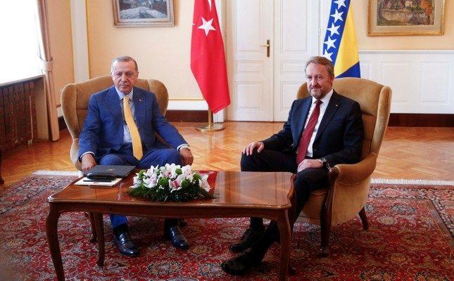 Erdoğan, Bosna-Hersek ziyaretinde Bulundu