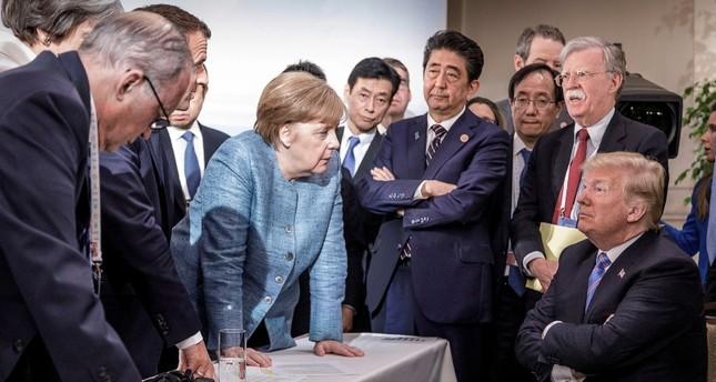 G7 Zirvesinde Büyük Anlaşmazlık