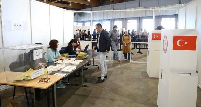24 Haziran seçimlerine Yurt Dışından Rekor Katılım