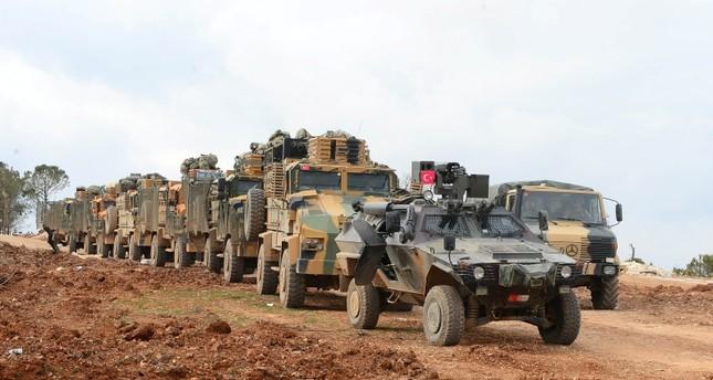 TSK Suriye'nin Manbij'inde devriye gezmeye başladı