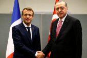 Erdoğan, Macron, ABD ile anlaşılan Manbij yol haritasını tartıştı