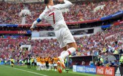 Ronaldo Fas'a karşı Portekiz'i omuzladı