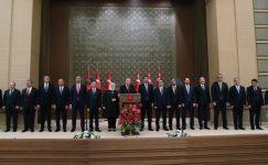 Cumhurbaşkanı Erdoğan yeni Kabinesini Açıkladı