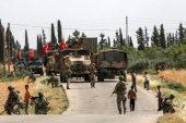 Türk ordusu Suriye'nin Manbijinde Devriye Atıyor