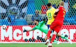 Belçika, Brezilya'yı eve göndererek Dünya Kupası yarı finaline çıktı