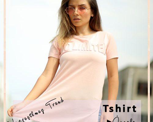Harika Tasarımlarda Bayan T-Shirt Modelleri