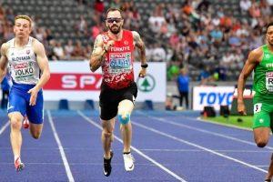 Ramil Guliyev 200 metrelik yarışta altın madalya kazandı