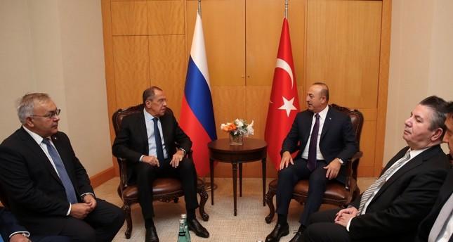 Türk, Rus dışişleri bakanları, savunma bakanları İstanbul'daki Suriye zirvesinin önünde buluştu
