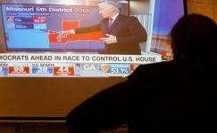 Cumhuriyetçiler Senato düzenlediler, ancak ABD aralarında Demokratlar Evi'ni kaybettiler