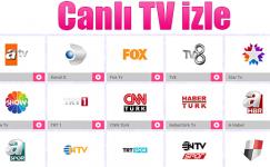 Canlı Tv İzleme Hizmeti