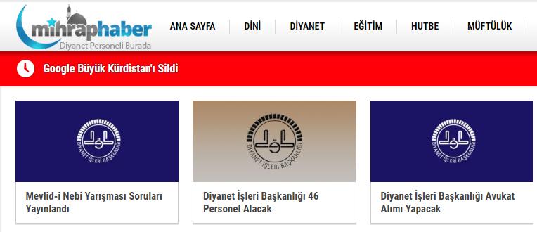 Türkiye'nin Dini Haberler Sitesi