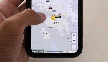 Apple, protestocuların Hong Kong polis hareketlerini izlemelerine yardımcı olan uygulamayı kaldırdı