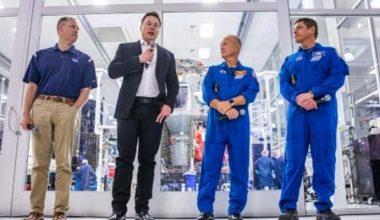 NASA ve SpaceX, 2020'nin başlarında ISS'ye insanlı misyon vermeyi umuyor