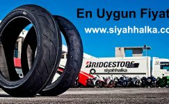 Bridgestone Motosiklet Lastikleri Siyah Halka İndirimi