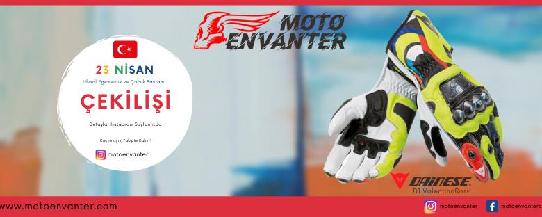Aranılan Motosiklet Aksesuarları Motoenvanter'de!