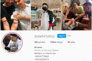 Kaliteli Dövme Stüdyosu Arayışınıza Son Veriyoruz:  Ataşehir Tattoo Art